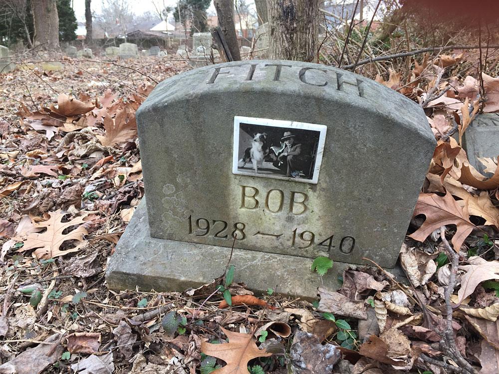 Bob. 1928-1940. Aspin Hill Memorial Park.