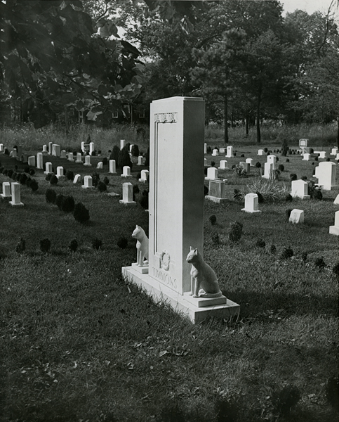 Timmons monument. Evening Star staff photographer F. Routt. August 16, 1946. Reprinted with permission of the DC Public Library, Star Collection © Washington Post