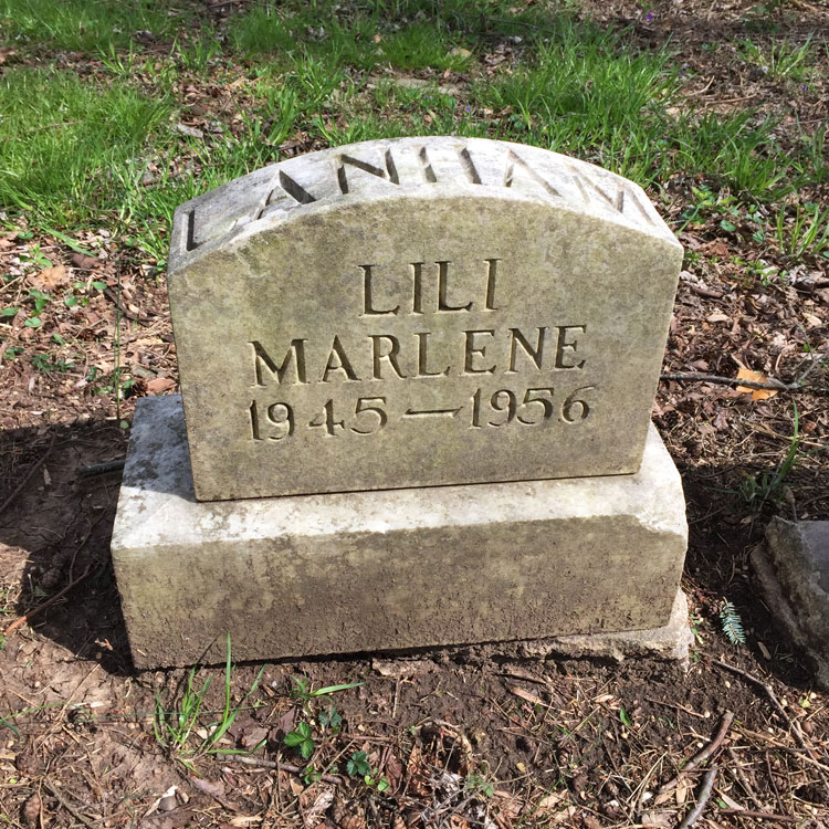 Lili Marlene 1945-1956 [Lanham]. (April 2018)