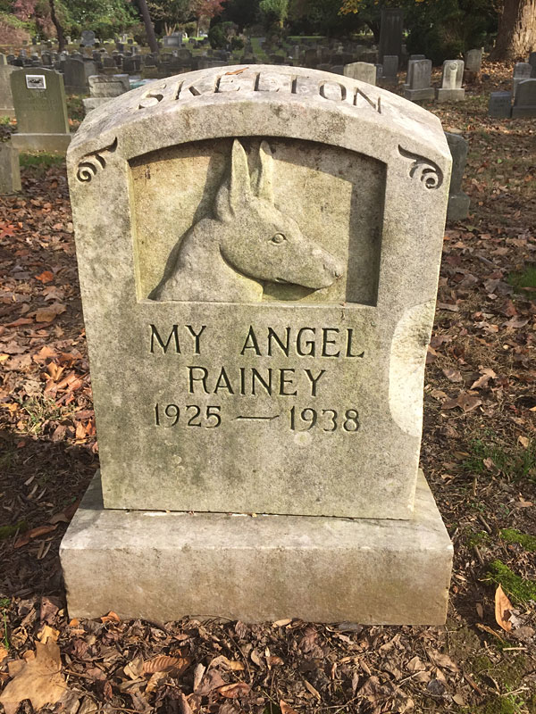 My Angel Rainey 1925-1938.[Skelton] (November 2017)