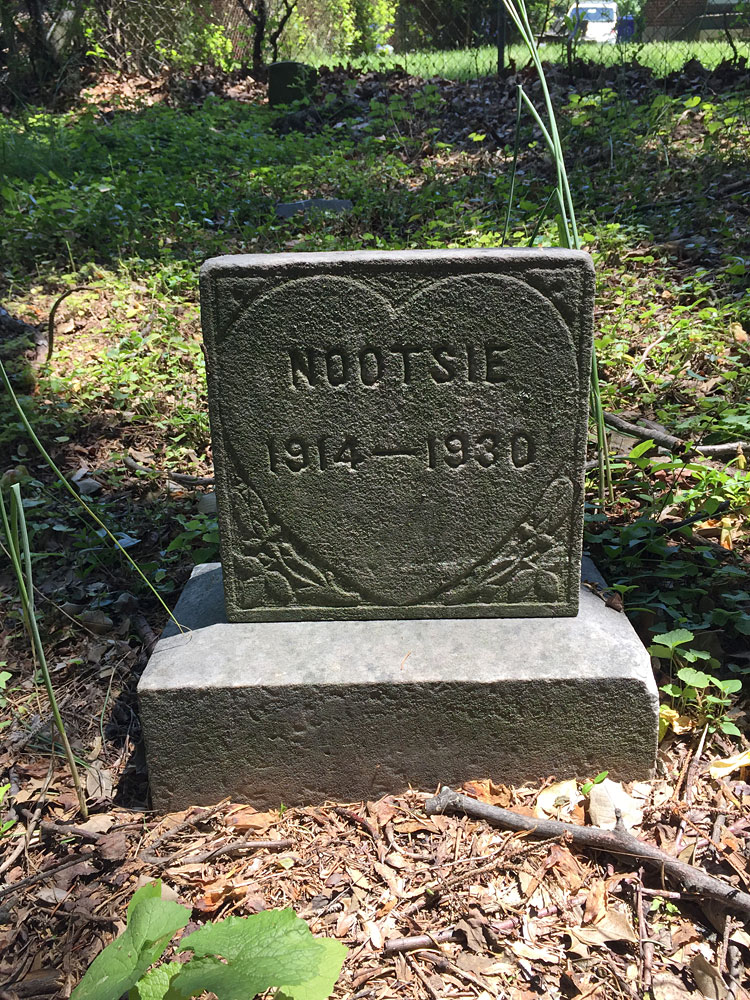 Nootsie 1914-1930. (May 2018)