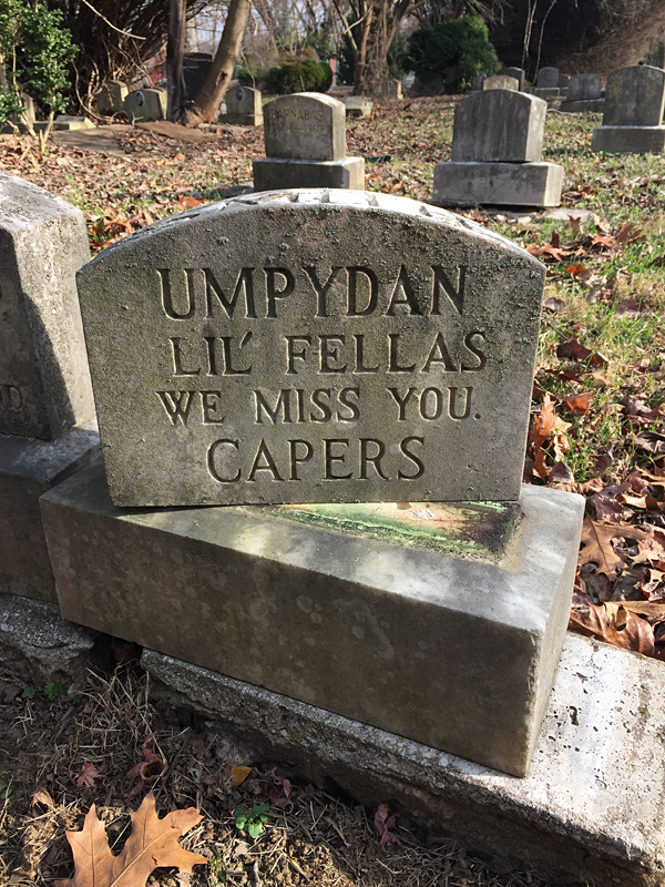 Umpydan - Lil' Fellas We Miss You. Capers. (December 2018)