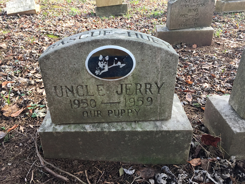 Uncle Jerry 1950-1959 Our Puppy. (December 2018)