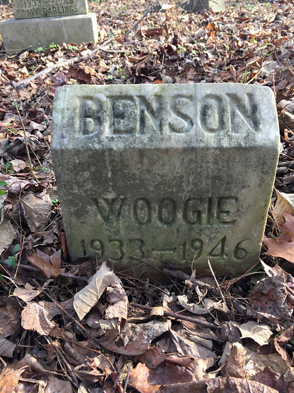 Woogie 1933-1946. [Benson] (December 2018)