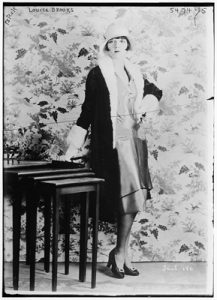 Actress Louise Brooks, the quintessential flapper of the 1920s. Library of Congress, George Grantham Bain Collection, Call Number: LC-B2- 5474-15 [P&P].