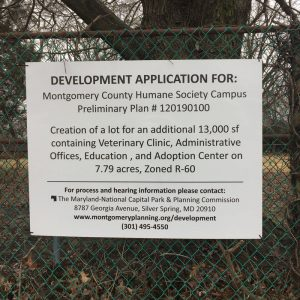 Development Application Sign, 2018